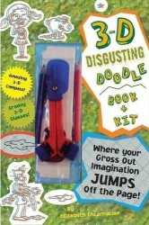 3-D Disgusting Doodle Book Book & Kit