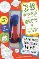 3-D Doodle Book & Kit